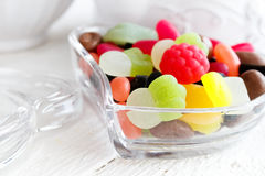 Colourful sweet candies Royalty Free Stock Images