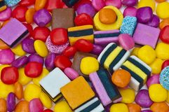 Colourful sweets Stock Photo