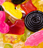 Colourful sweets Royalty Free Stock Images