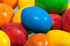 Colourful Sweets. Close-up of colourful sweets Stock Photography