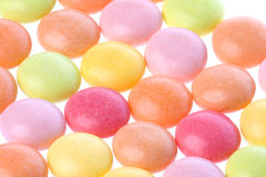 Colourful Sweets Isolated Royalty Free Stock Photo
