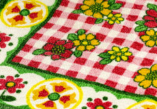 Colourful Table Cloth Stock Photos