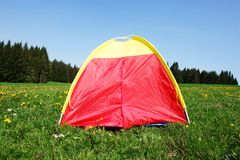 Colourful tent Royalty Free Stock Photos