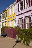 Colourful Terrace Royalty Free Stock Photo