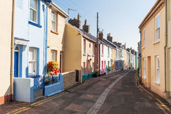 Colourful Terraced Houses Stock Photo