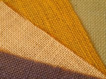 Colourful textile background image in diagonal Stock Image