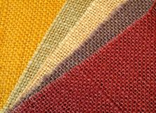 Colourful textile background image in diagonal Royalty Free Stock Photo
