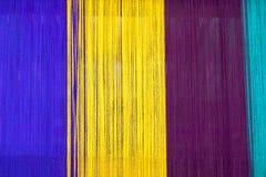 Colourful textile close-up Stock Photos