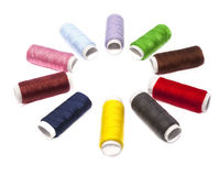 Colourful thread Stock Photo