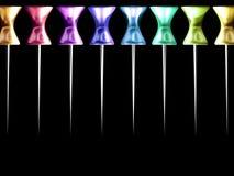 Colourful Thumbtacks  Royalty Free Stock Photo
