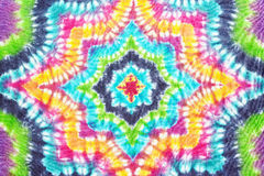 Colourful tie dyed pattern background. Stock Photography