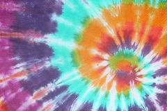 Colourful tie dyed pattern background. Royalty Free Stock Photos