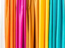 Colourful tkanina - Curacao widoki obraz stock
