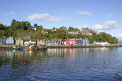 Colourful Tobermory Royalty Free Stock Photography