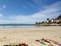 Fish Hoek beach royalty free stock photography