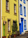 Colourful town houses Stock Photos
