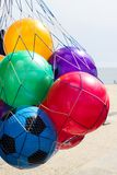 Colourful toy balls Royalty Free Stock Photos