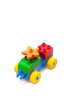 Colourful toy with isolated white background Royalty Free Stock Photos