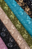 Colourful traditional Shawls Royalty Free Stock Photography