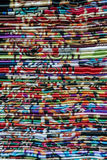 Colourful traditional Shawls Stock Photos