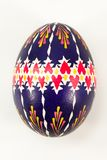 Colourful traditionally painted Sorbian Easter egg. For Easter custom Royalty Free Stock Images
