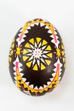 Colourful traditionally painted Sorbian Easter egg. For Easter custom Stock Photo