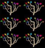 Colourful tree stock illustration