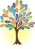 Colourful tree Stock Image