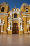 Colourful Trujillo Cathedral Royalty Free Stock Photos