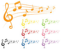 Colourful Tunes Royalty Free Stock Photo