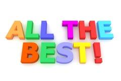 Colourful tutto il meglio! illustrazione vettoriale