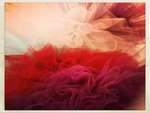 Colourful tutu skirts. Tulle skirts in bright colours Royalty Free Stock Image