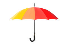 Colourful umbrella isolated Stock Photo