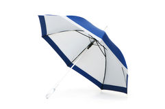 Colourful umbrella isolated on the white Royalty Free Stock Images
