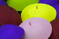 Colourful umbrellas Royalty Free Stock Image