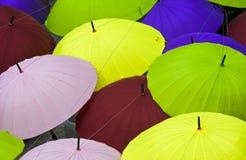 Colourful umbrellas Royalty Free Stock Photos