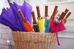 Colourful Umbrellas Stock Photo