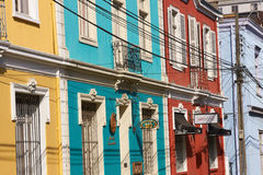 Colourful Valparaiso Royalty Free Stock Photos