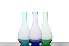 Colourful Vases Stock Photo