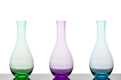 Colourful Vases Stock Photography