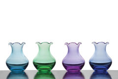Colourful Vases Royalty Free Stock Photos