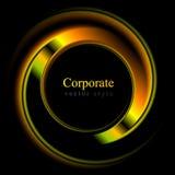Colourful vector logo shape Stock Photos