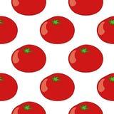 Tomato seamless pattern. Colourful vector tomato seamless pattern stock illustration
