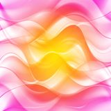 Colourful vector waves design Stock Image