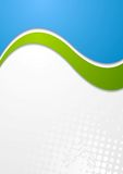 Colourful vector waves design Stock Photography