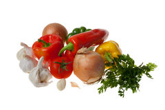 Colourful Vegetables Royalty Free Stock Image