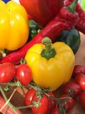 Colourful vegetables Royalty Free Stock Photography