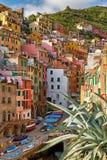 Colourful village in Cinque terre, Italy. Stock Photo