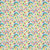 Colourful vintage pattern (background, texture) Stock Images
