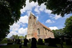 12th. century Frisian church Royalty Free Stock Photography